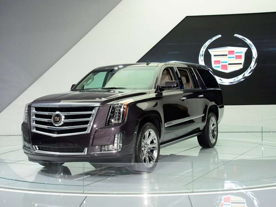The 2015 Cadillac Escalade Photo: Kelley Blue Book