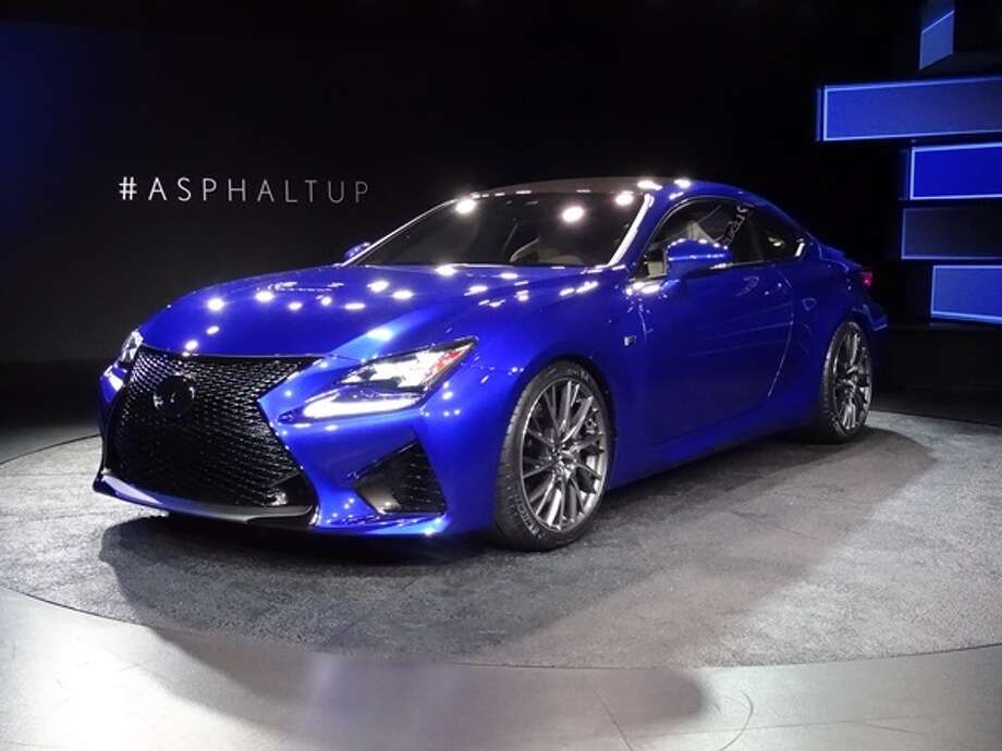 The 2015 Lexus RC F Photo: Kelley Blue Book