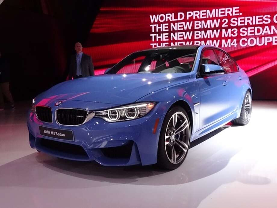 The 2015 BMW M3 Photo: Kelley Blue Book