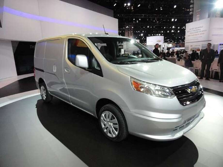 The 2015 Chevrolet City Express Photo: Kelley Blue Book