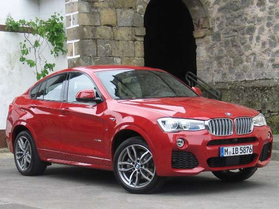 The 2015 BMW X4 Photo: Kelley Blue Book