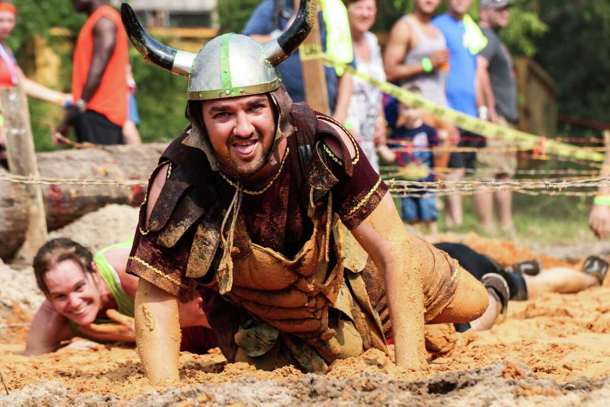 Combine obstacles like barbed wire, muddy and hilly terrain and beer-gut sporting contestants and you have a train wreck in action.