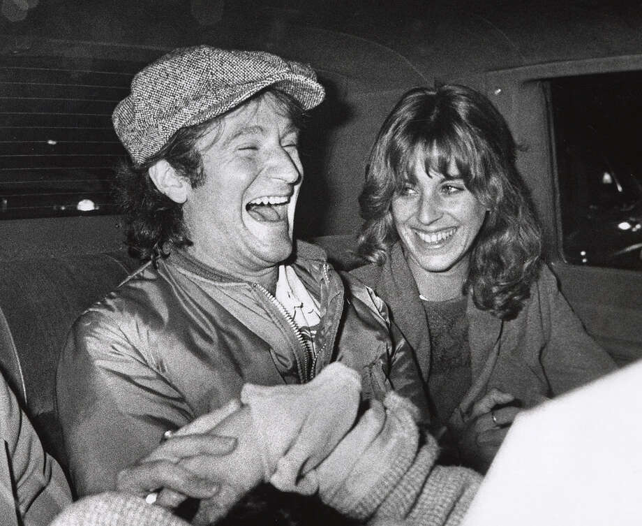 "Robin Williams and Wife Valerie Williams during Robin Williams After ""Saturday Night Live"" Taping in New York City - November 11, 1978 at NBC Studios in New York City, New York, United States. Photo: Ron Galella, Getty Images / Ron Galella Collection"