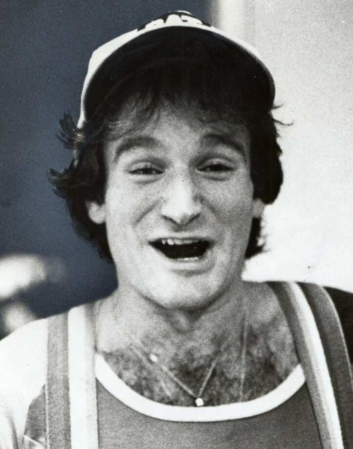 Robin Williams was an aspiring comedian in 1978. Williams was found dead at his home in Marin County on Monday, Aug. 11, 2014. He was 63. Photo: Ho