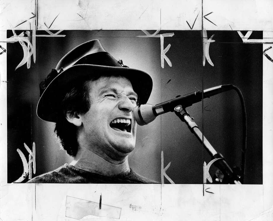 Robin Williams, October 4, 1980 Photo: Mike Maloney, The Chronicle