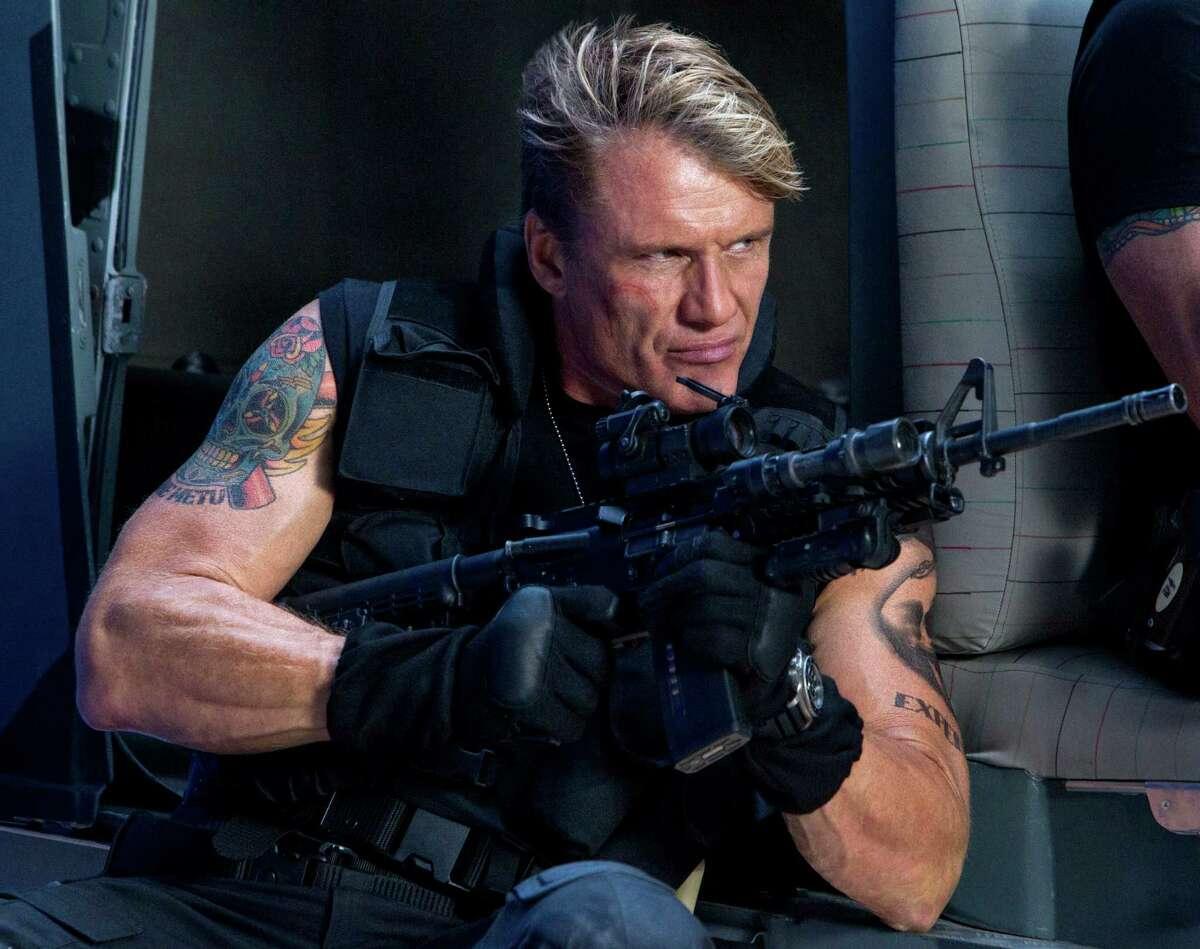 Dolph Lundgren stars as Gunner Jensen in
