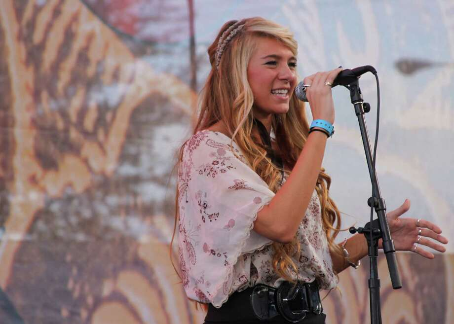 Julia Cole brings her country-pop sound to Cypress Saloon. Photo: RodeoHouston