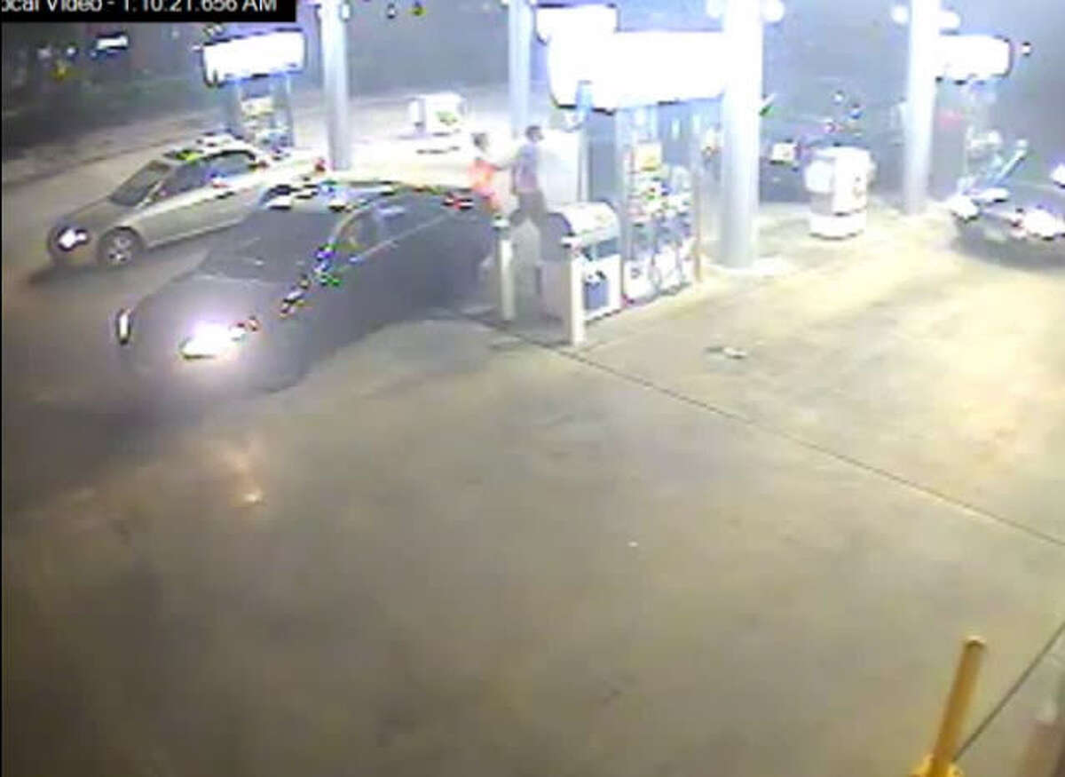 Harris County deputies are looking for a woman and man in their early 20s who stole a man's car around 1:15 a.m. July 19, 2014 at a gas station in the 400 block of West FM 1960. According to the Harris County Sheriff's Office, the man distracted the suspect by asking to borrow his cellphone while the woman slipped into his car and sped away. | Harris County Sheriff's Office