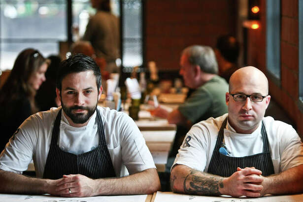 Pass & Provisions: owners Chef Terrence Gallivan, left, and Chef Seth Siegel-Gardner. Photographed, Saturday, Dec. 15, 2012, in Houston. ( Nick de la Torre / Houston Chronicle )