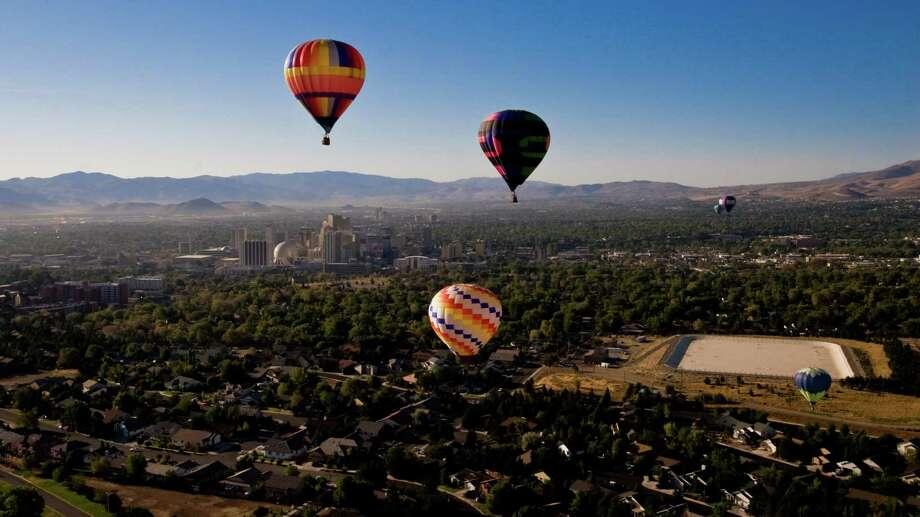 The Great Reno Balloon Race, Reno, NV. Photo: Travel Nevada / 2005-2008 Ryan Jerz