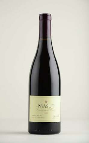 Masut Pinot Noir, 2012 Monday May 12, 2014, at the Times Union in Colonie, N.Y. (Will Waldron/Times Union) Photo: WW