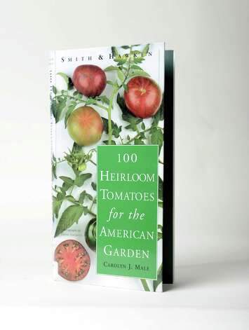 a€œ100 Heirloom Tomatoes for the American Garden,a€ Carolyn J. Male, Wednesday Aug. 13, 2014, at the Times Union in Colonie, N.Y. (Will Waldron/Times Union) Photo: WW