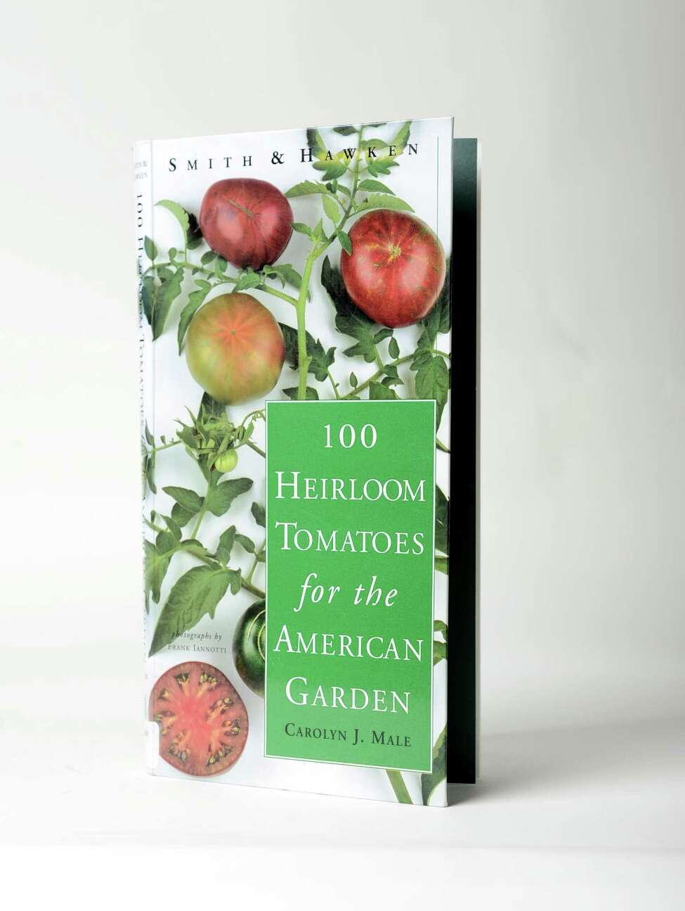 a€œ100 Heirloom Tomatoes for the American Garden,a€ Carolyn J. Male, Wednesday Aug. 13, 2014, at the Times Union in Colonie, N.Y. (Will Waldron/Times Union)