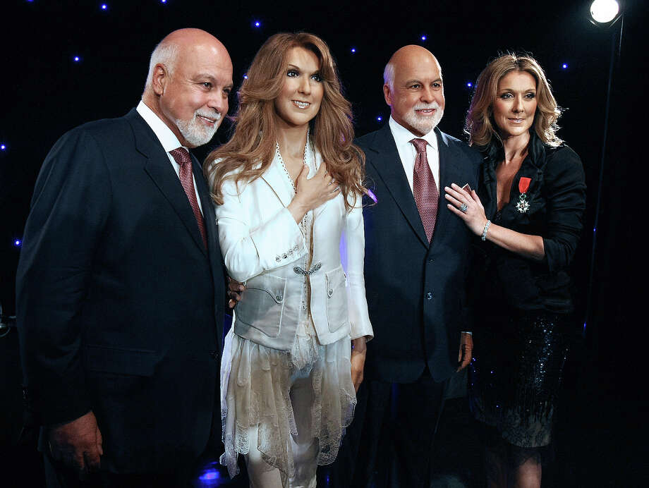 Celine Dion and her husband Rene Angelil, Paris. Photo: JOEL SAGET, AFP/Getty Images / 2008 AFP