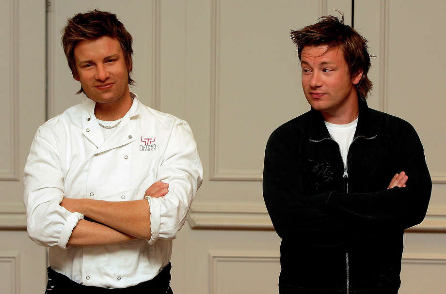 Jamie Oliver, London. Photo: Gareth Cattermole, Getty Images / 2005 Getty Images