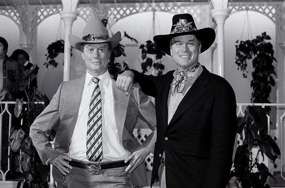 Larry Hagman, London. Photo: Terry Lott, Sony Music Archive/Getty Images / Sony Music Archive