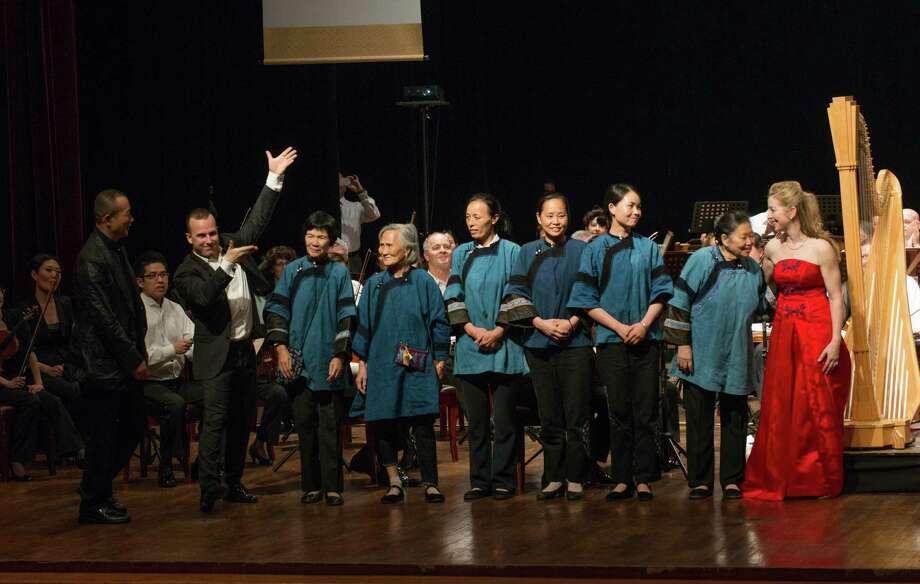 """The Changsha premiere of """"Nu Shu"""" (Jan Regan Photography) Photo: Jan Regan / Jan Regan Photography"""