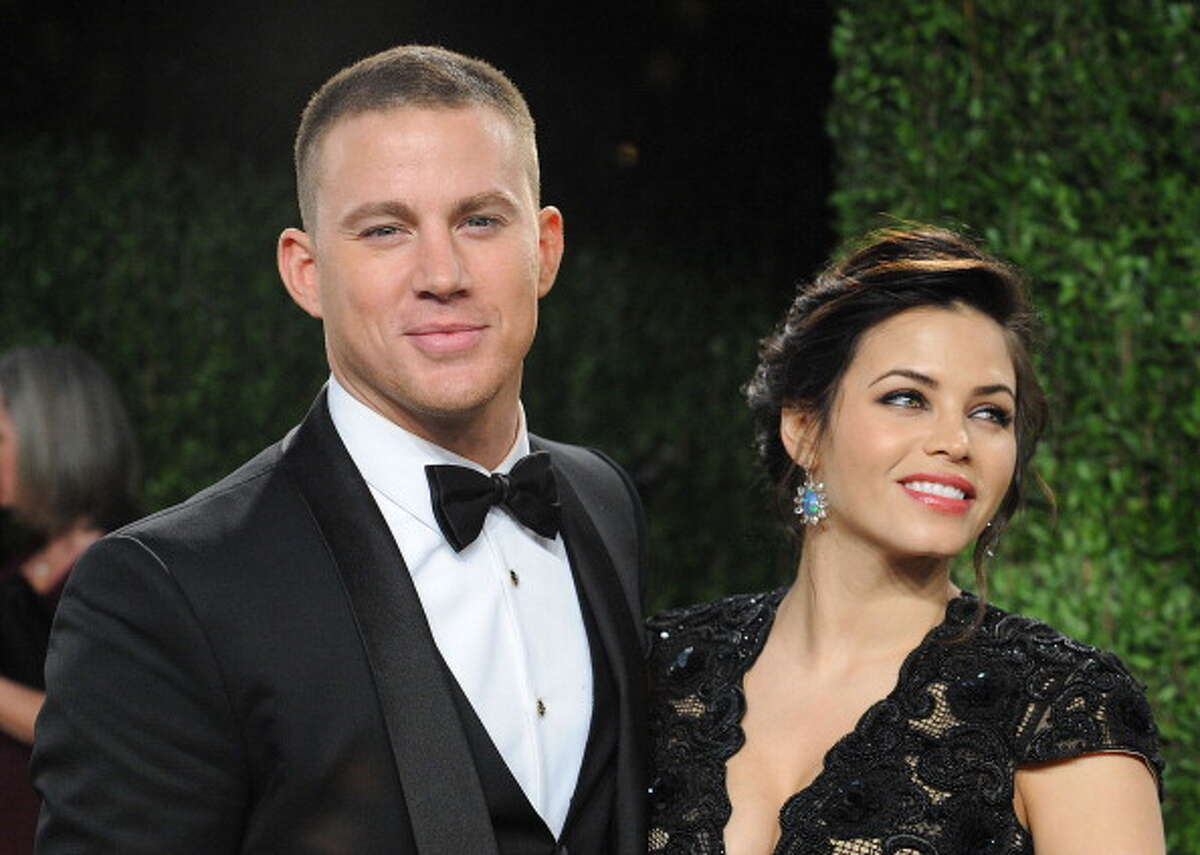 Actor Channing Tatum and his wife Jenna Dewan-Tatum were spotted at Barberie's Black Angus steakhouse in Danbury in late July 2016.