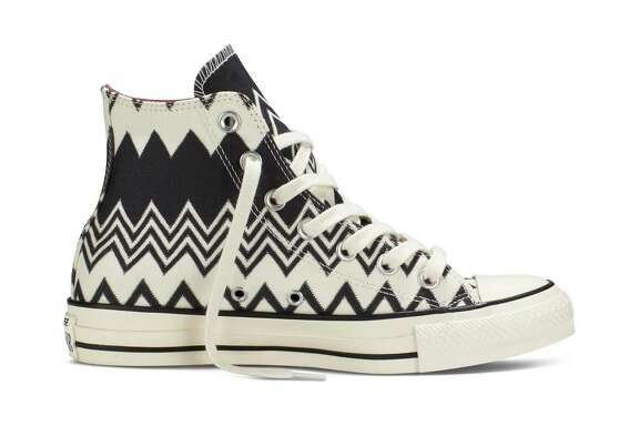 The latest Converse Chuck Taylor All Star Missoni sneakers are available in classic high-top and low-top styles from $85 -$100, exclusively at Nordstrom