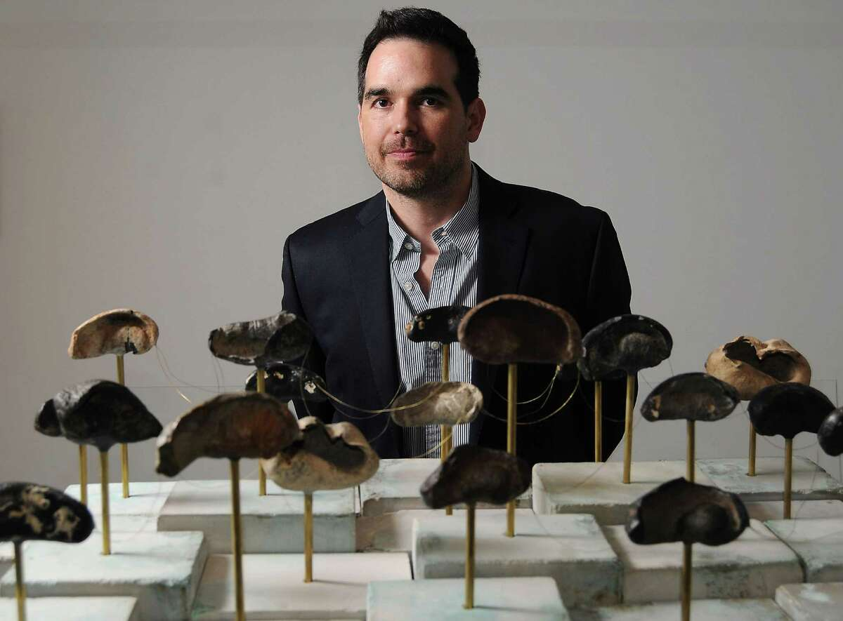 """Dario Robleto and the eardrums of prehistoric whales in """"Fossilhood Is Not Our Forever."""""""