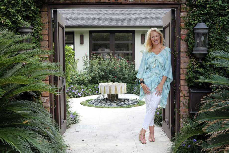 Laurier Blanc owner Suzanne Coppola, at her 1960s-era Tanglewood home, is opening a showroom this month. Photo: Mayra Beltran, Staff / © 2014 Houston Chronicle