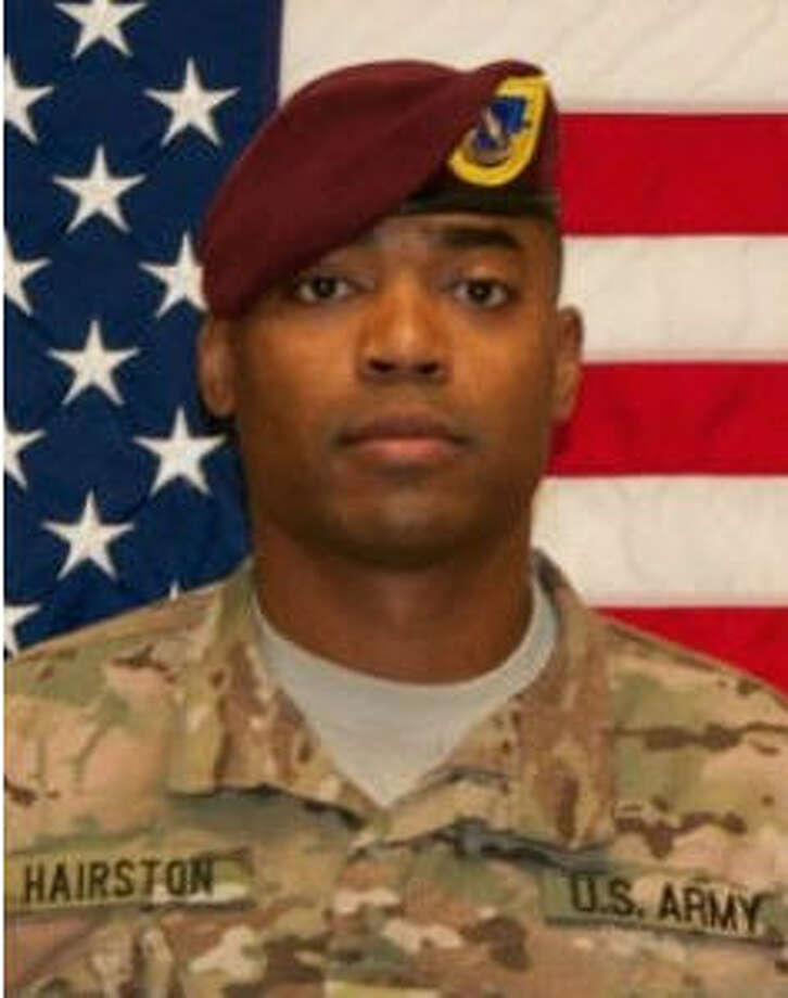 Army Sgt. 1st Class Samuel C. Hairston, who played on the University of Houston football team before becoming a decorated soldier, has died in combat.