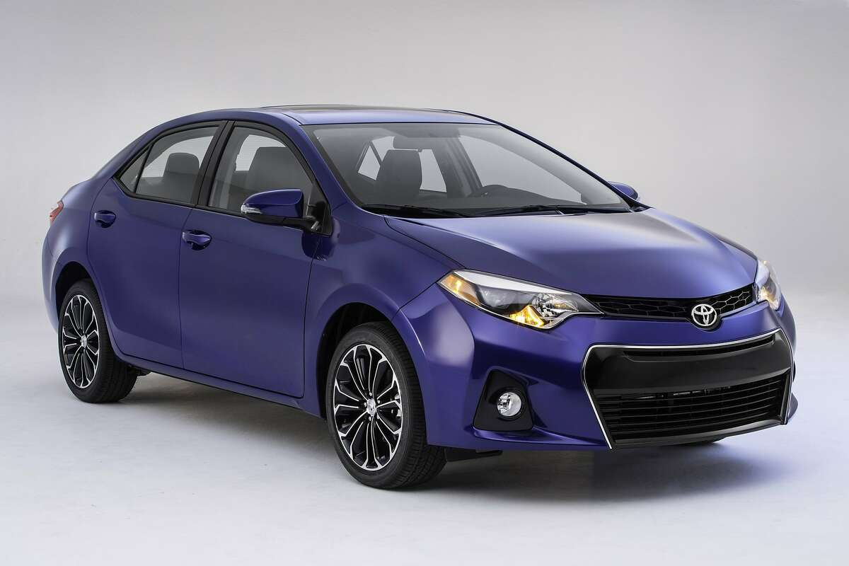Toyota introduced this Corolla model last year. The Corolla was the top seller during the 2009 program.