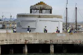 Municipal Pier in San Francisco, Calif. on Tuesday, August 12, 2014.