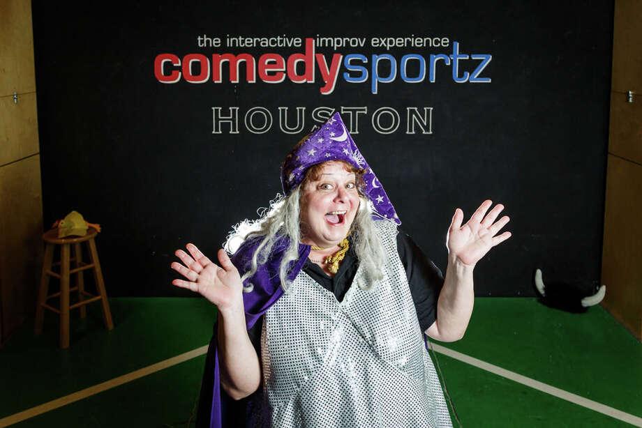 Dianah Dulany owner of ComedySportz Houston. Photo: Michael Paulsen, Houston Chronicle / © 2014 Houston Chronicle
