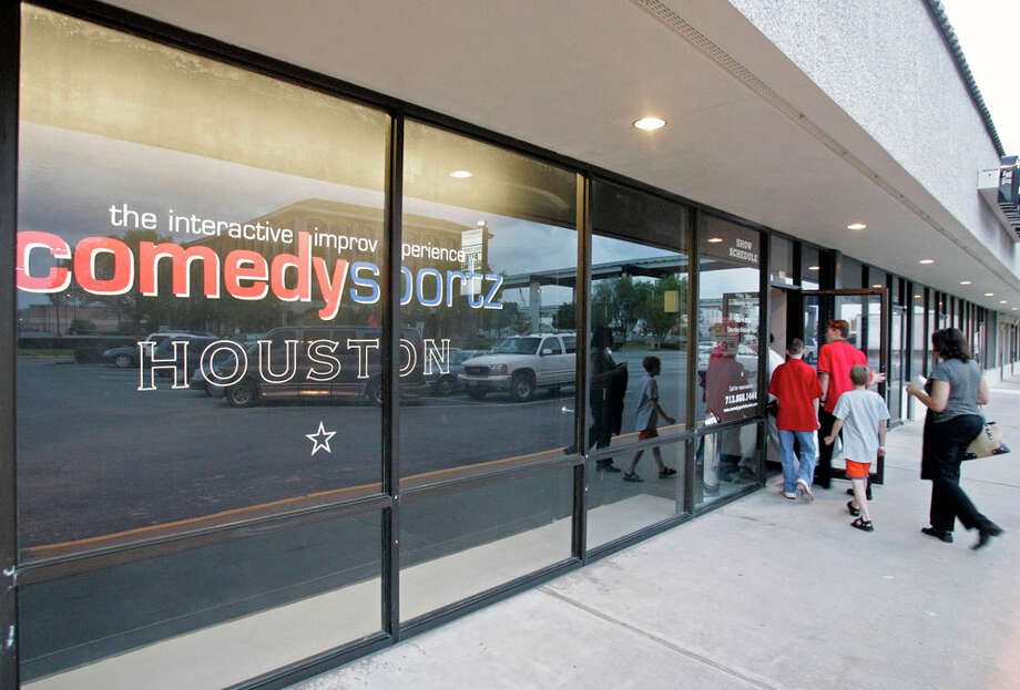 ComedySportz Houston is moving from its theater at 901 Town & Country Blvd. Photo: Craig H. Hartley, For The Chronicle / freelance