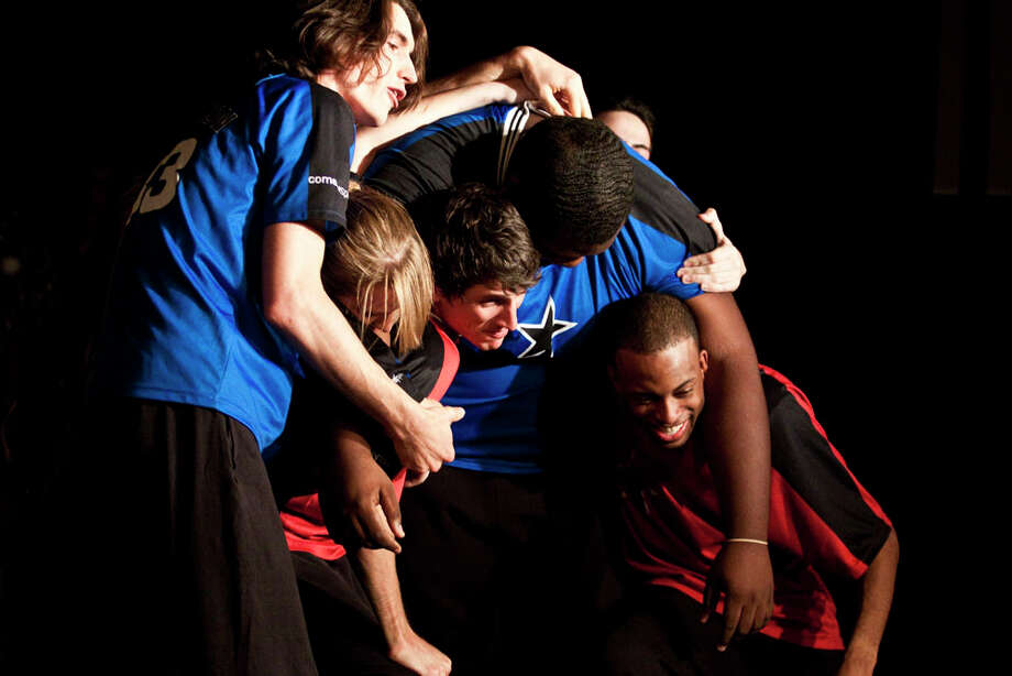 The ComedySportz troupe in action. Photo: Eric Kayne, For The Chronicle / Freelance