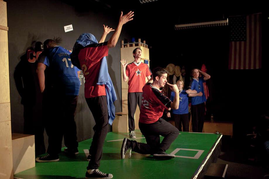 ComedySportz is Houston's longest running improvisational comedy troupe. Photo: Eric Kayne, For The Chronicle / Freelance