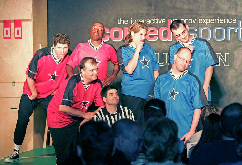 The ComedySportz troupe in action. Photo: Craig H. Hartley, For The Chronicle / freelance
