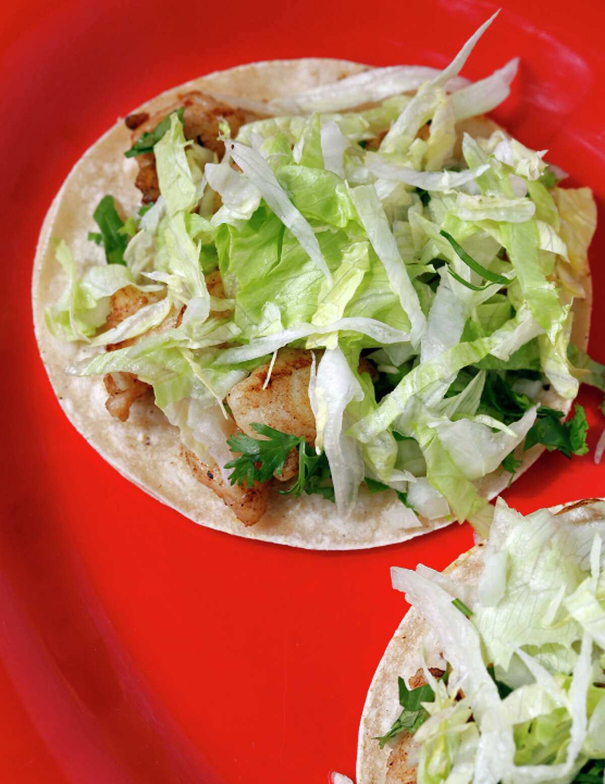 The grilled fish tacos at Rancho Grande Taqueria in Pleasanton, Calif., on Friday, August 8, 2014.