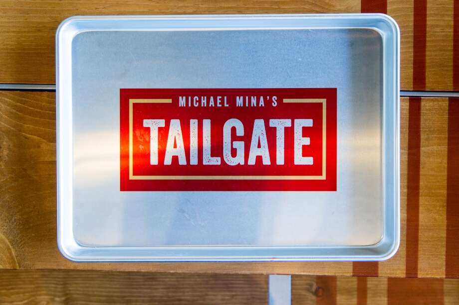 A tray at the Tailgate portion of the restaurant. Photo: Jason Henry, Special To The Chronicle