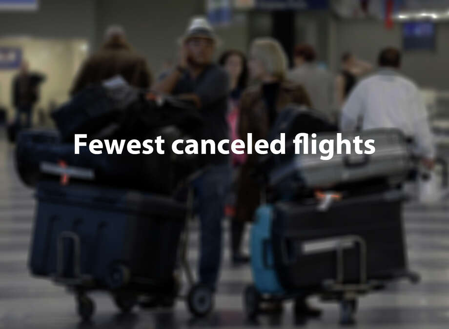 AirFareWatchDoggenerated the following numbers, based on a Department of Transportation report on May 2014 flight cancellations. Photo: Nam Y. Huh, Associated Press