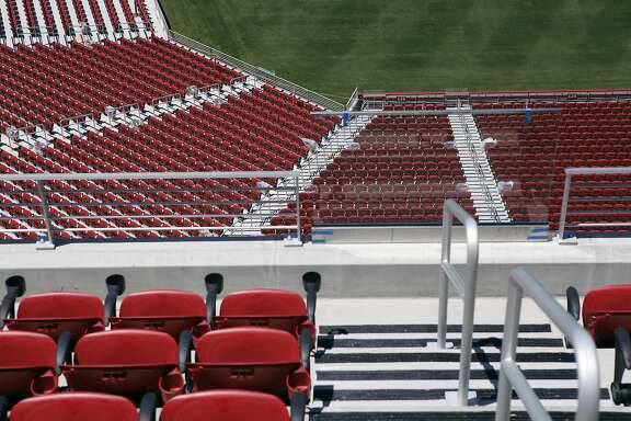 The San Francisco 49ers new $1.2 billion Levi's Stadium will seat approximately 68,500 and will feature an expected 165 luxury suites and 8,500 club seats, in Santa Clara, CA Tuesday June 17, 2014,