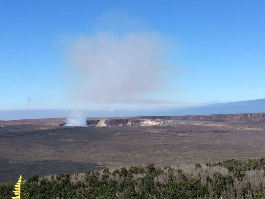 Hawai'i Volcanoes National Park has resumed normal operations,although the portion of Mauna Loa Road beyond beyond Kīpukapuaulu (Bird Park) and the Nāmakanipaio Campground  remain temporarily closed for cleanup of fallen trees and debris. They're expected to reopen by the weekend. Photo: NPS / J. Ferracane