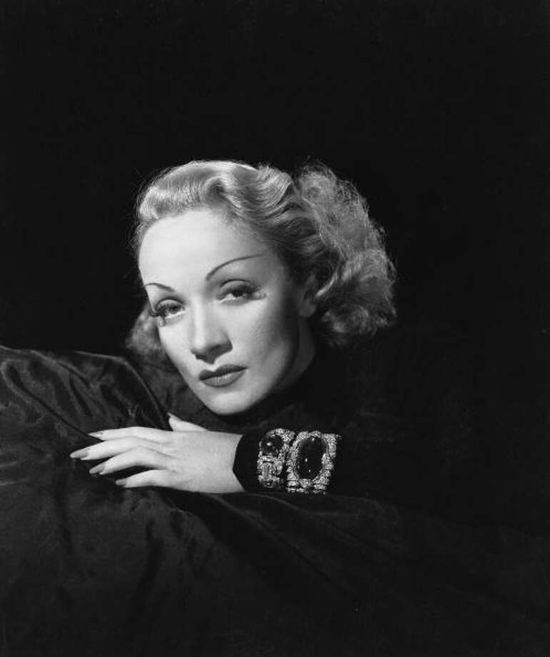 Marlene Dietrich (May 6, 1992) Photo: Clarence Sinclair Bull, Getty Images / Moviepix