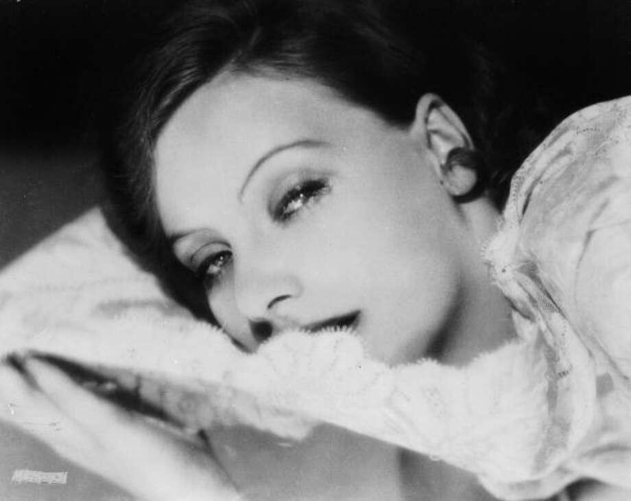Greta Garbo (April 15, 1990) Photo: Ruth Harriet Louise, Getty Images / Moviepix