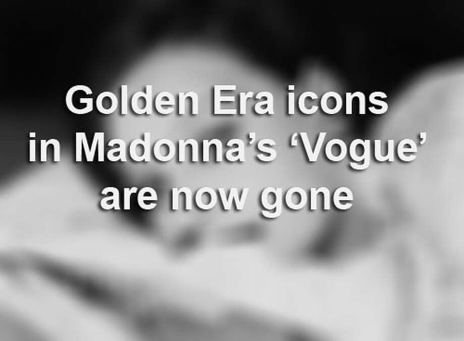 All of the 16 Hollywood icons named in singer Madonna's pop song, 'Vogue,' have now died. Click through the gallery to see the list of icon stars.