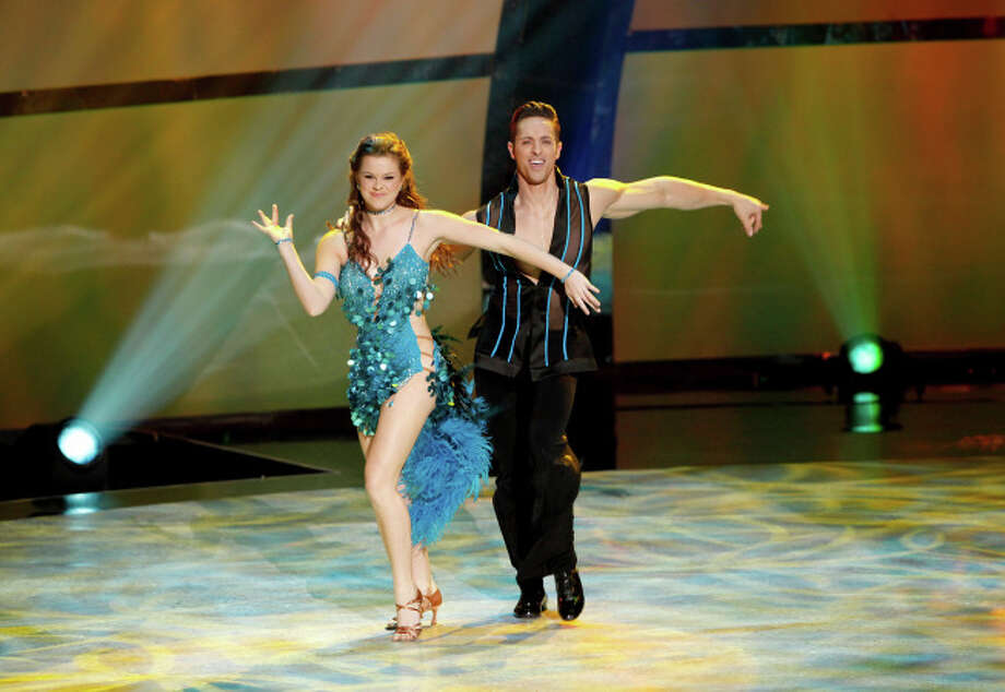 """SO YOU THINK YOU CAN DANCE: L-R: Top 8 contestant Valerie Rockey and all-star Ryan Di Lello perform a Samba routine to """"Wanna Be Startin' Somethin'"""" choreographed by Jean-Marc Genereaux on SO YOU THINK YOU CAN DANCE airing Wednesday, August 13 (8:00-10:00 PM ET/PT) on FOX. ©2014 FOX Broadcasting Co. Cr: Adam Rose / 1"""
