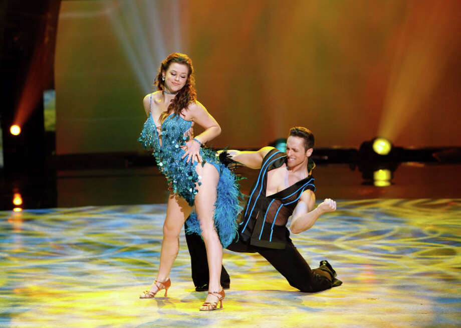 "SO YOU THINK YOU CAN DANCE: L-R: Top 8 contestant Valerie Rockey and all-star Ryan Di Lello perform a Samba routine to ""Wanna Be Startin' Somethin'"" choreographed by Jean-Marc Genereaux on SO YOU THINK YOU CAN DANCE airing Wednesday, August 13 (8:00-10:00 PM ET/PT) on FOX. ©2014 FOX Broadcasting Co. Cr: Adam Rose / 1"