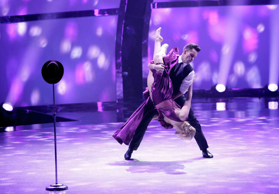 "SO YOU THINK YOU CAN DANCE: L-R: Top 8 contestant Tanisha Belnap and all-star Nick Lazzarini perform a Contemporary routine to ""She's Out Of My Life"" choreographed by Stacey Tookey on SO YOU THINK YOU CAN DANCE airing Wednesday, August 13 (8:00-10:00 PM ET/PT) on FOX. ©2014 FOX Broadcasting Co. Cr: Adam Rose / 1"