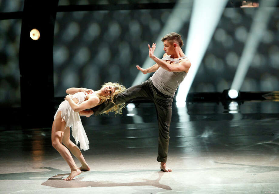 "SO YOU THINK YOU CAN DANCE: Top 8 contestant Rudy Abreu (R) and all-star Allison Holker perform a Jazz routine to ""Dirty Diana"" choreographed by Ray Leeper on SO YOU THINK YOU CAN DANCE airing Wednesday, August 13 (8:00-10:00 PM ET/PT) on FOX. ©2014 FOX Broadcasting Co. Cr: Adam Rose / 1"