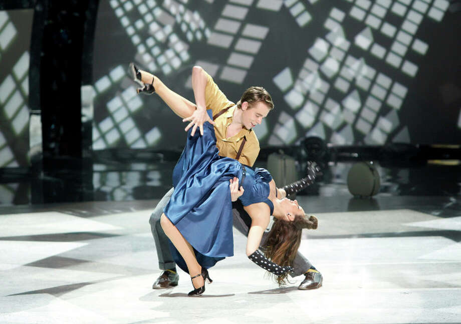 """SO YOU THINK YOU CAN DANCE: L-R: Top 8 contestant Zack Everhart, Jr. and all-star Makenzie Dustman perform a Broadway routine to """"The Way You Make Me Feel"""" choreographed by Spencer Liff on SO YOU THINK YOU CAN DANCE airing Wednesday, August 13 (8:00-10:00 PM ET/PT) on FOX. ©2014 FOX Broadcasting Co. Cr: Adam Rose / 1"""