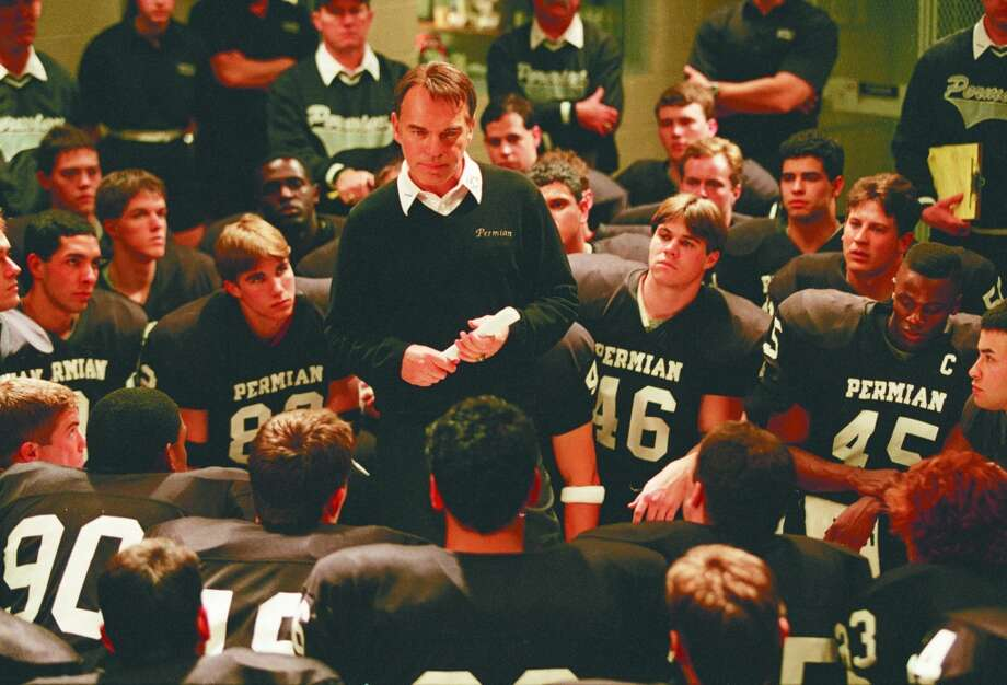 'Friday Night Lights' (2004):Before the TV series there was the movie about the Texas football phenomenon that starred Billy Bob Thornton and was directed by Peter Berg. Photo: Credit: Ralph Nelson