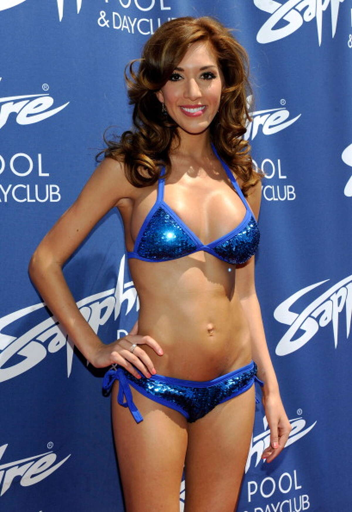 LAS VEGAS, NV - JUNE 14: Television personality Farrah Abraham arrives at the Sapphire Pool & Day Club on June 14, 2013 in Las Vegas, Nevada.