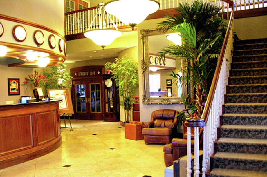 The lobby. Photo: Courtesy/Hangar Hotel