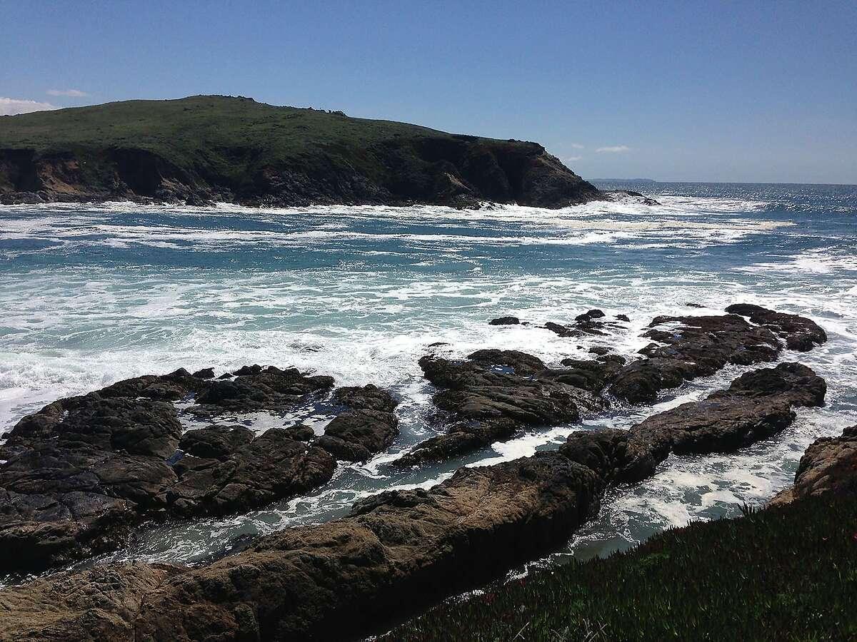 Shoreline at Bodega Bay